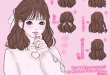 Dear My Loveコーデ × 三つ編みハーフアップのご紹介♡