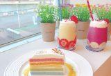 静岡におしゃれなレインボーケーキが食べられるカフェがオープン♡