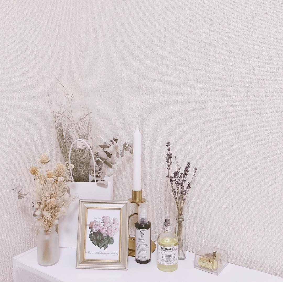 香水・瓶がかわいいインテリア