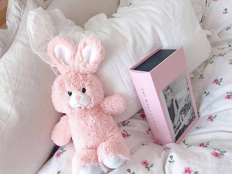 ピンクがかわいいお部屋
