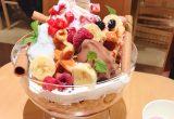 【大阪カフェ】毎月3日はなんと半額!話題のソフトクリームパフェ♪